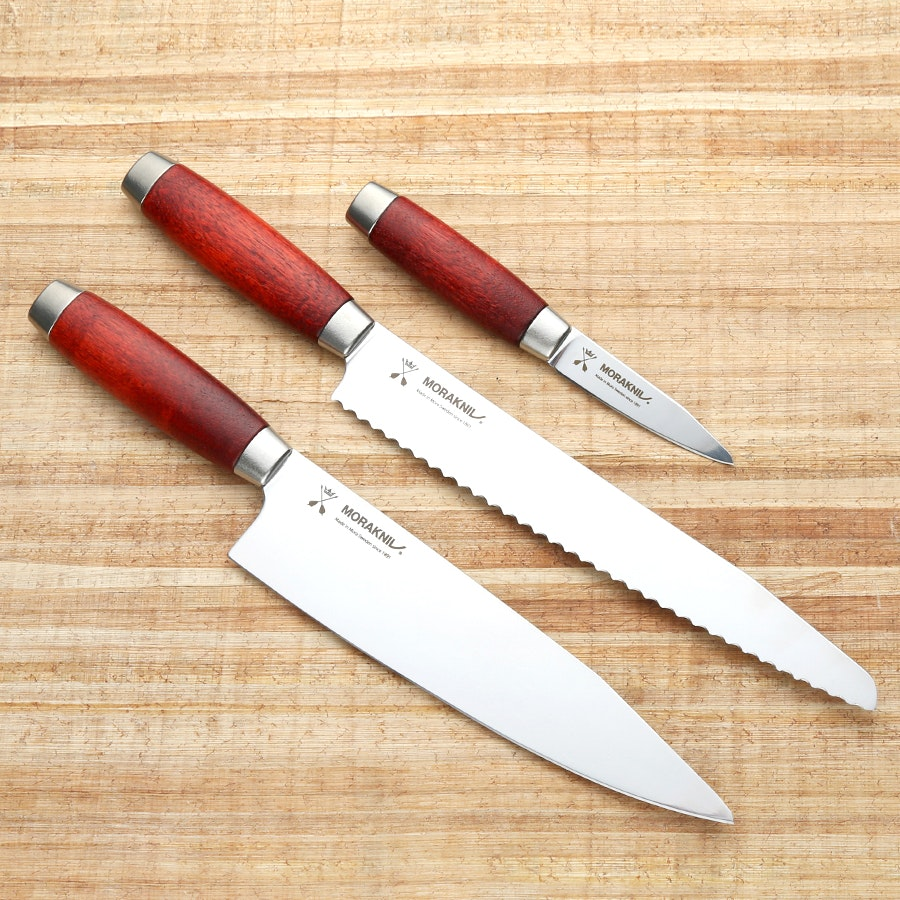 Morakniv Classic 1891 Kitchen Knives (Set of 3)