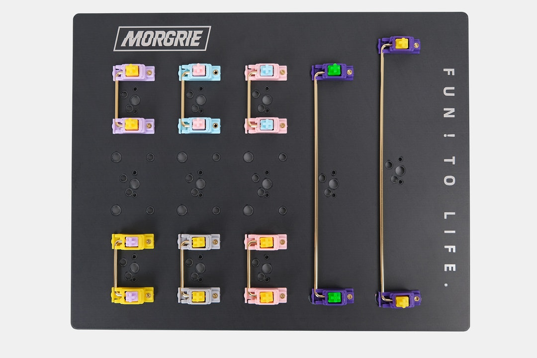 Morgrie POM Gold-Plated Stabilizer Set