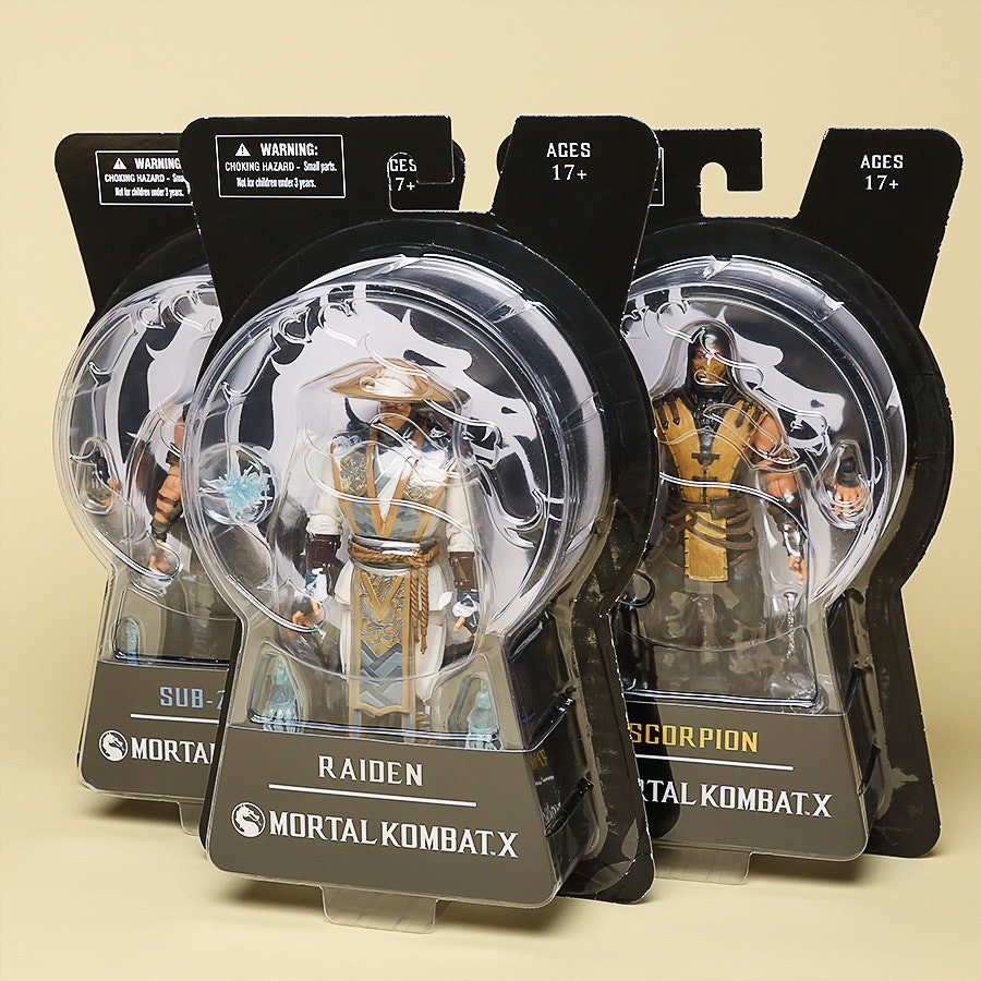 "Mortal Kombat X Series 1 - 6"" Figure Set"
