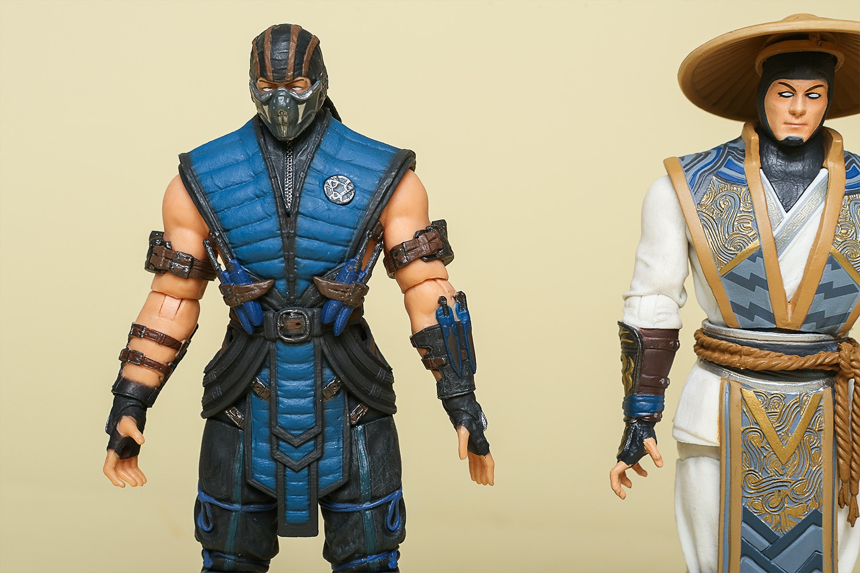 "Mortal Kombat X Series 1 - 6"" Figure Set"