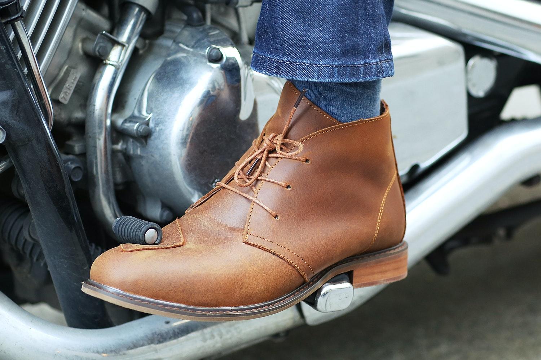 MotoBailey Kevlar Motorcycle Boots