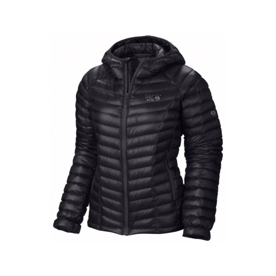 Women's Hooded Jacket, Black (+ $12)
