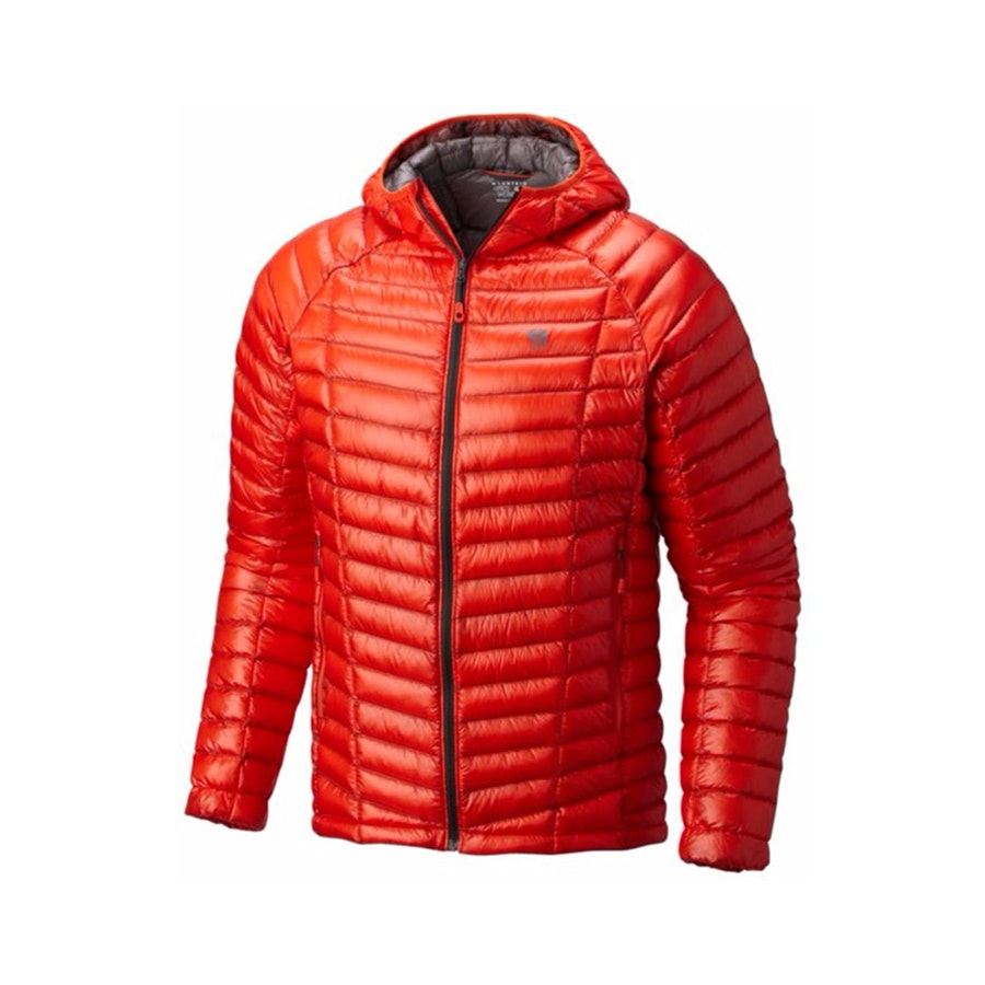 Men's Hooded Jacket, State Orange