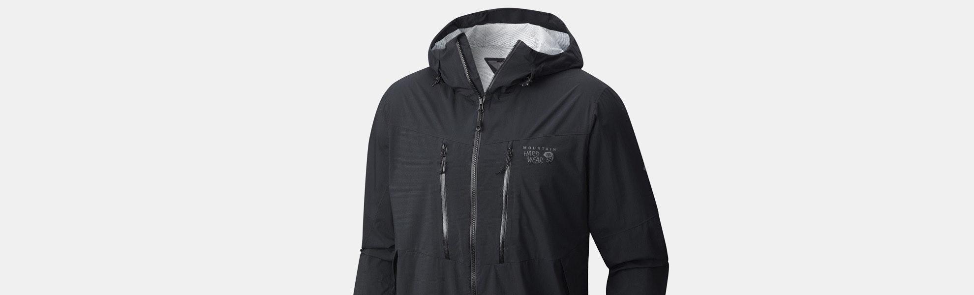 Mountain Hardwear ThunderShadow Men's Rain Jacket