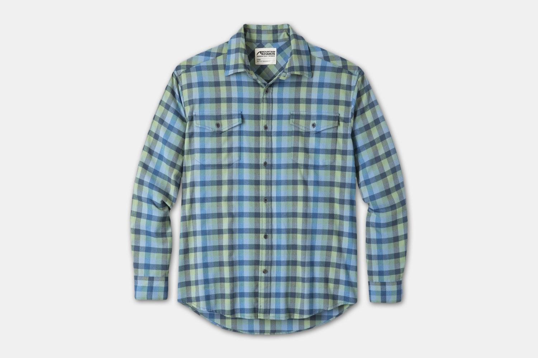 Peaks Flannel Shirt - Deep Sea (+$15)