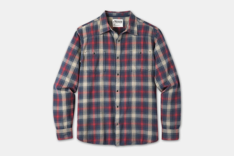 Saloon Flannel Shirt - Twilight Plaid (+$5)