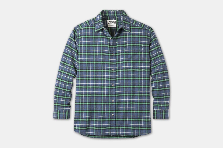 Peden Flannel Shirt - Twilight Plaid