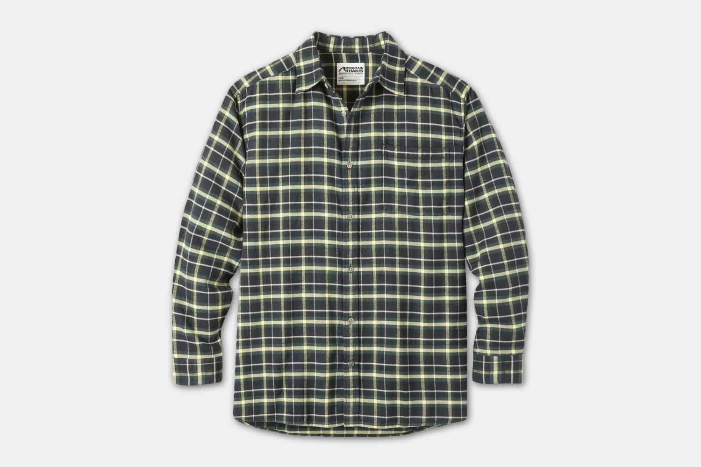 Peden Flannel Shirt - Black Plaid