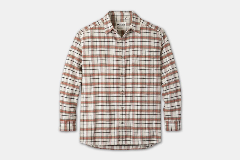 Peden Flannel Shirt - Cream Plaid