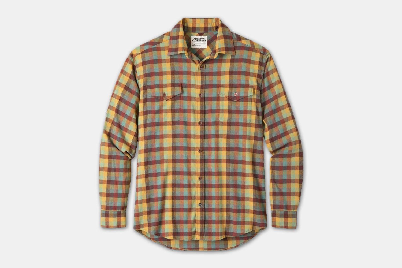 Peaks Flannel Shirt - Butterscotch (+$15)