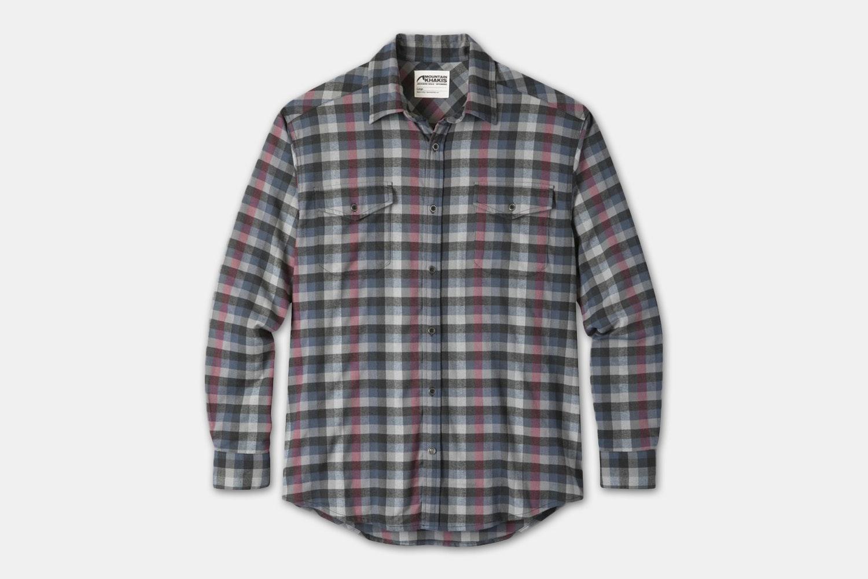 Peaks Flannel Shirt - Lunar (+$15)