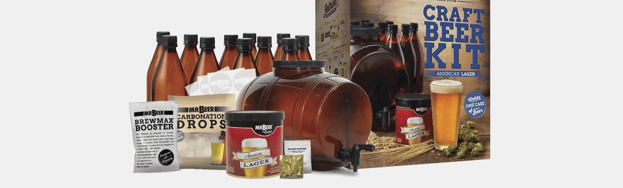 Mr. Beer American Lager Complete Brewing Kit