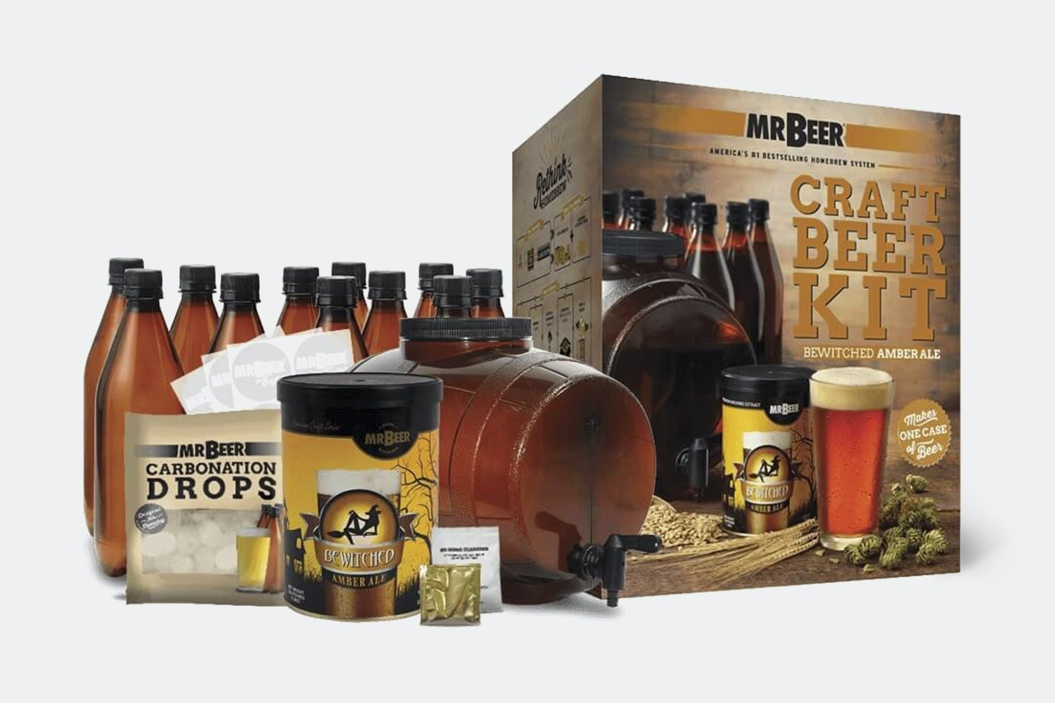 Bewitched Amber Ale Kit
