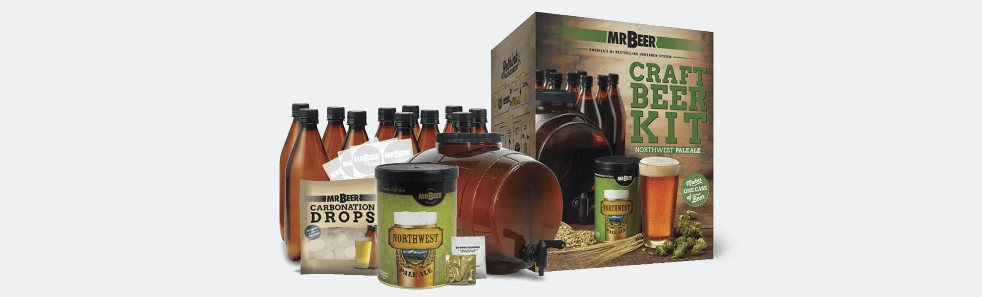 Mr. Beer Complete Craft Brewing Kits