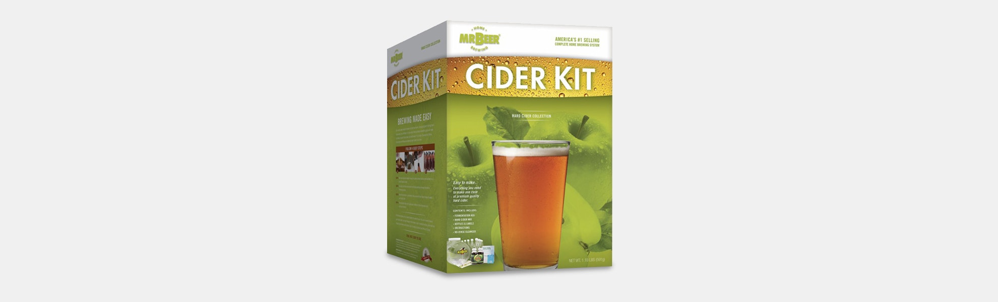 Mr. Beer Hard Cider Homebrewing Kit