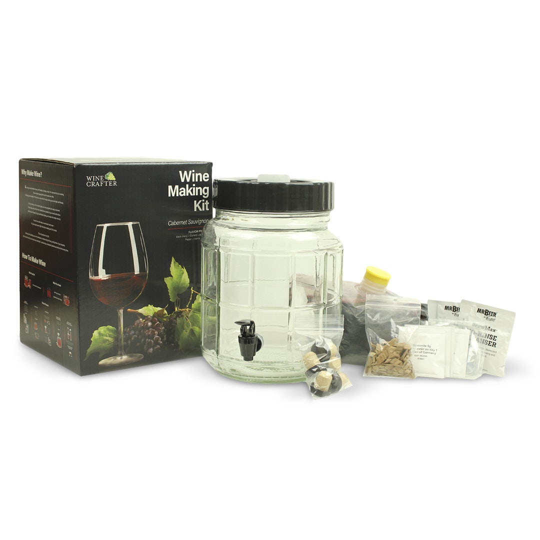 Mr. Beer Home Brew 1-Gallon Wine Kits