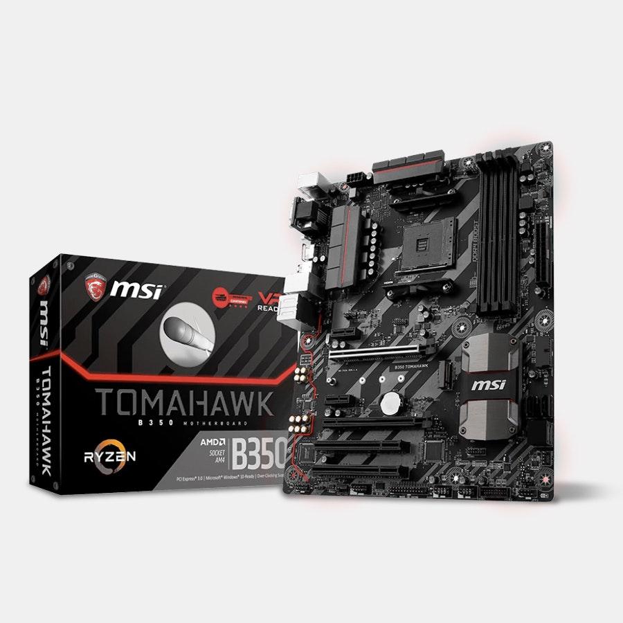 MSI B350 TOMAHAWK Motherboard for AMD RYZEN