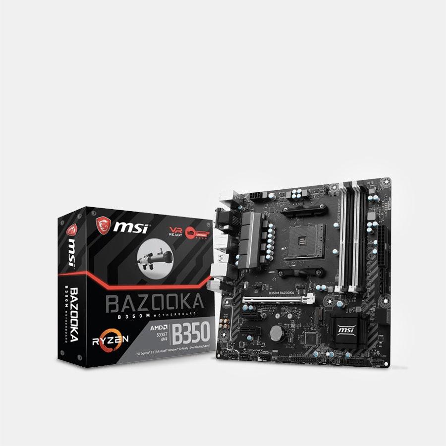MSI B350M Mortar Motherboards AMD Ryzen