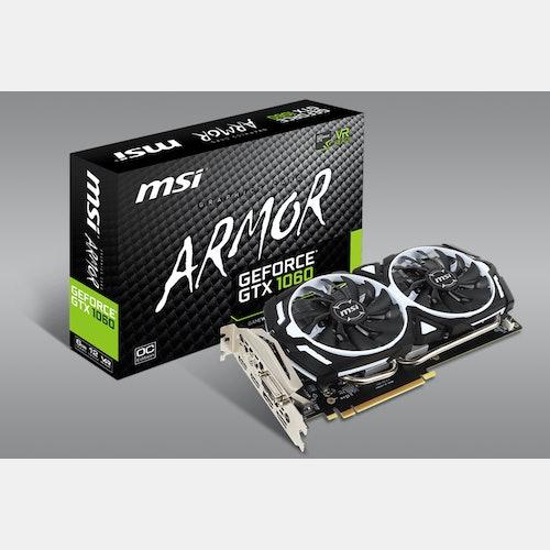 MSI Geforce GTX 1060 Armor 6G/3G OCV1 | Price & Reviews | Drop