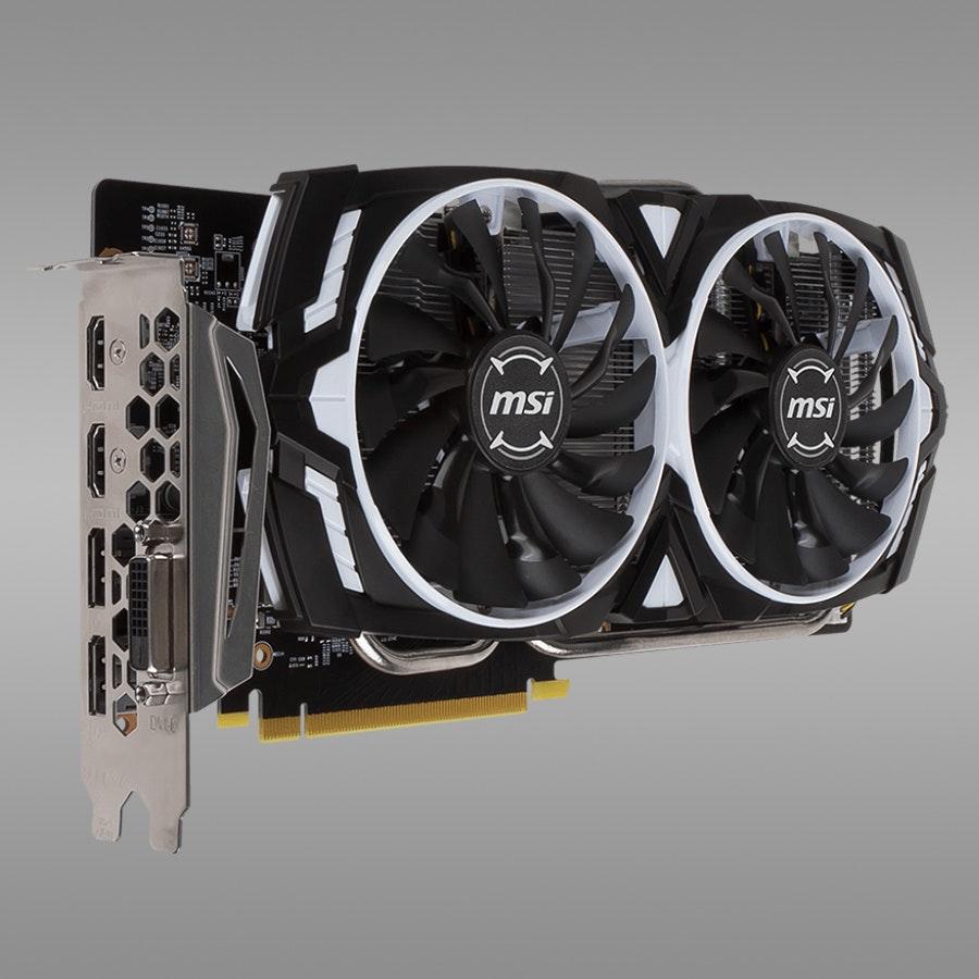 MSI Geforce GTX 1060 Armor 6G/3G OCV1