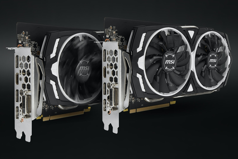 MSI Geforce GTX 1060 Armor 6G OC