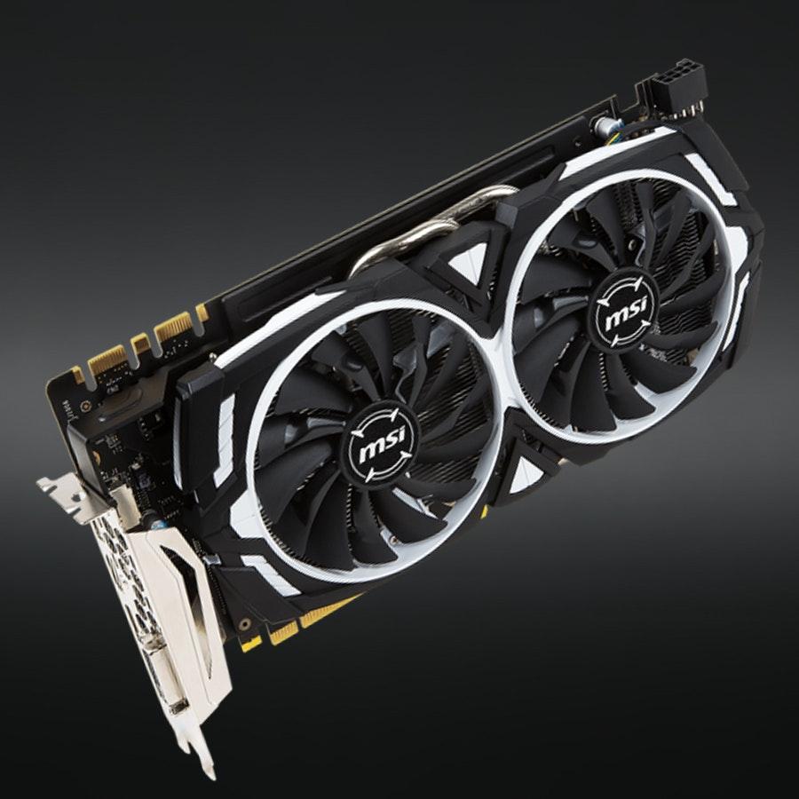MSI Geforce GTX 1070 or 1080 Armor 8G OC