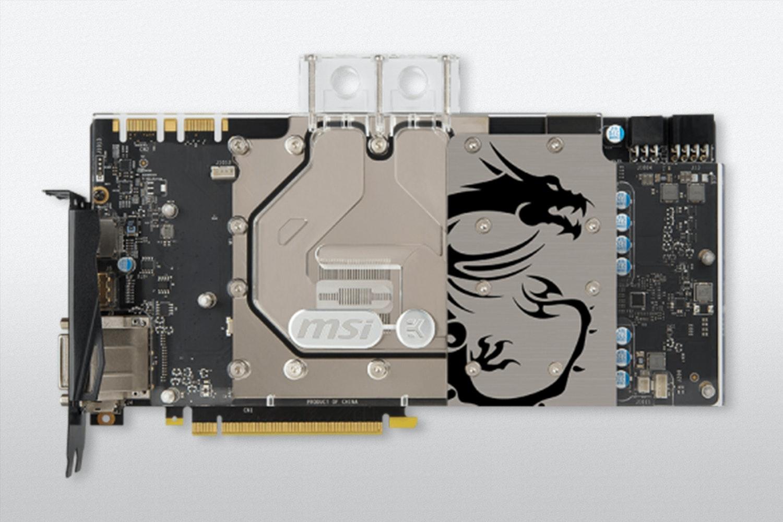 MSI GeForce GTX 1070/1080 SEA HAWK EK X