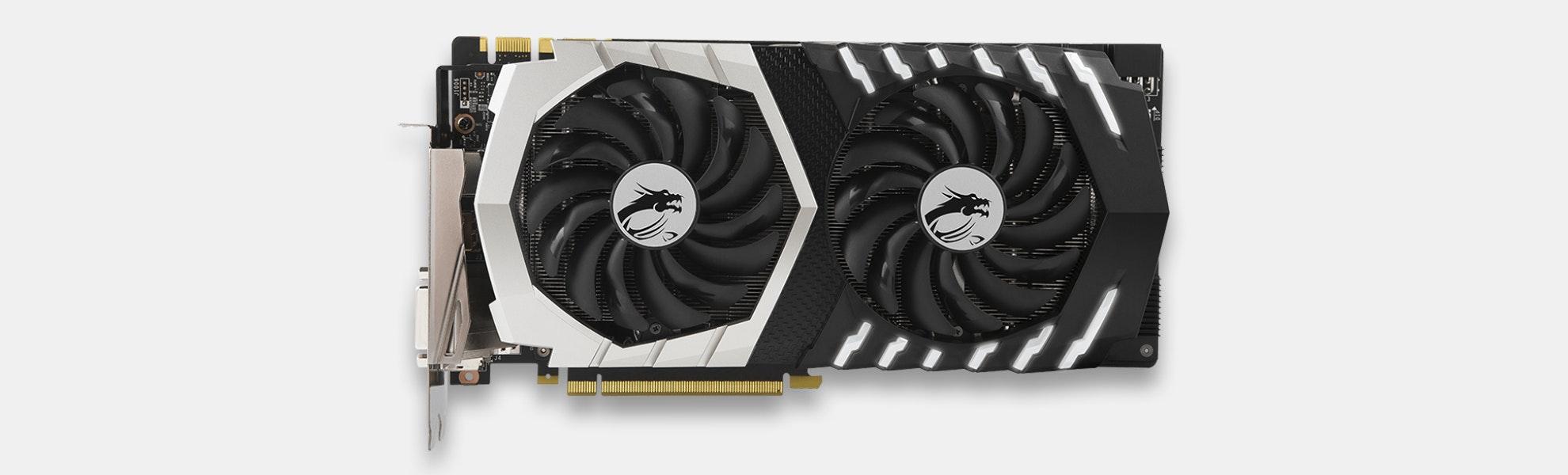 MSI GeForce GTX 1070 Ti Titanium 8GB