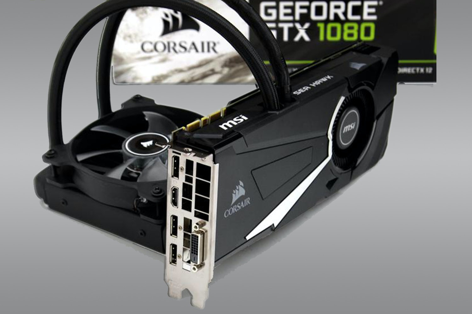 MSI Geforce GTX 1080 8GB SEA HAWK X