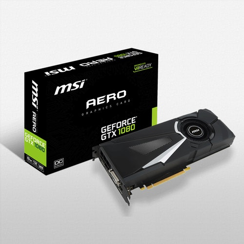 MSI Geforce GTX 1080 Aero 8G OC | Price & Reviews | Drop
