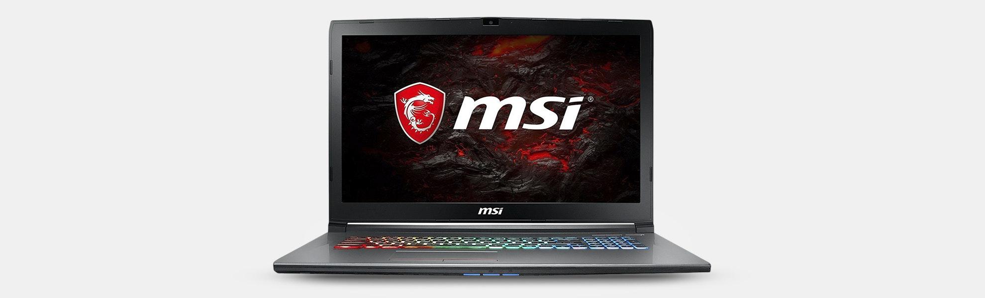MSI GF72VR Gaming Laptop