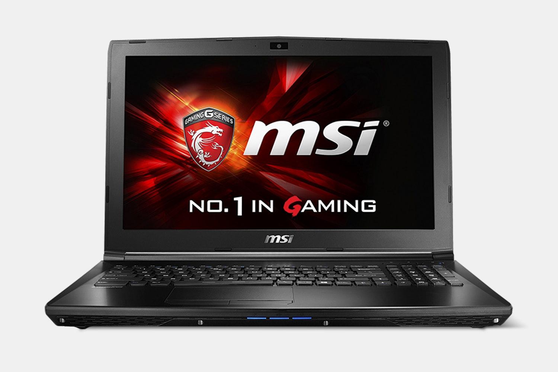 MSI GL Series Gaming Laptop Bundle