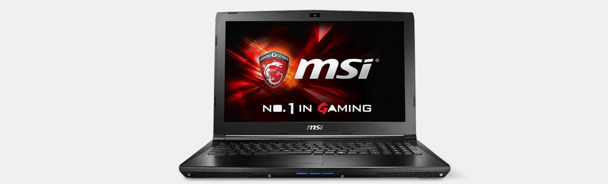 MSI GL62M Gaming Laptop