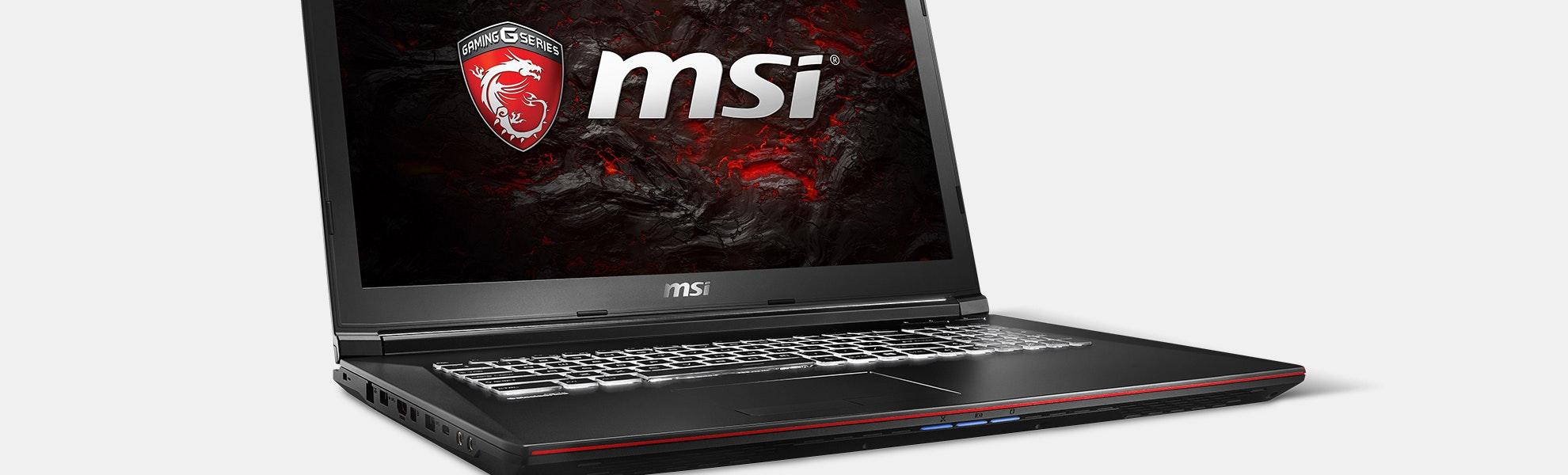 MSI GP72VR Leopard Pro-281 Gaming Laptop 120Hz