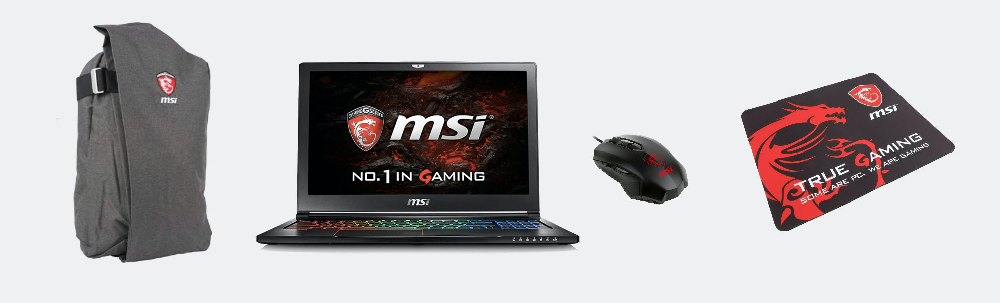 MSI GS63VR Stealth Pro-422 Gaming Notebook Bundle