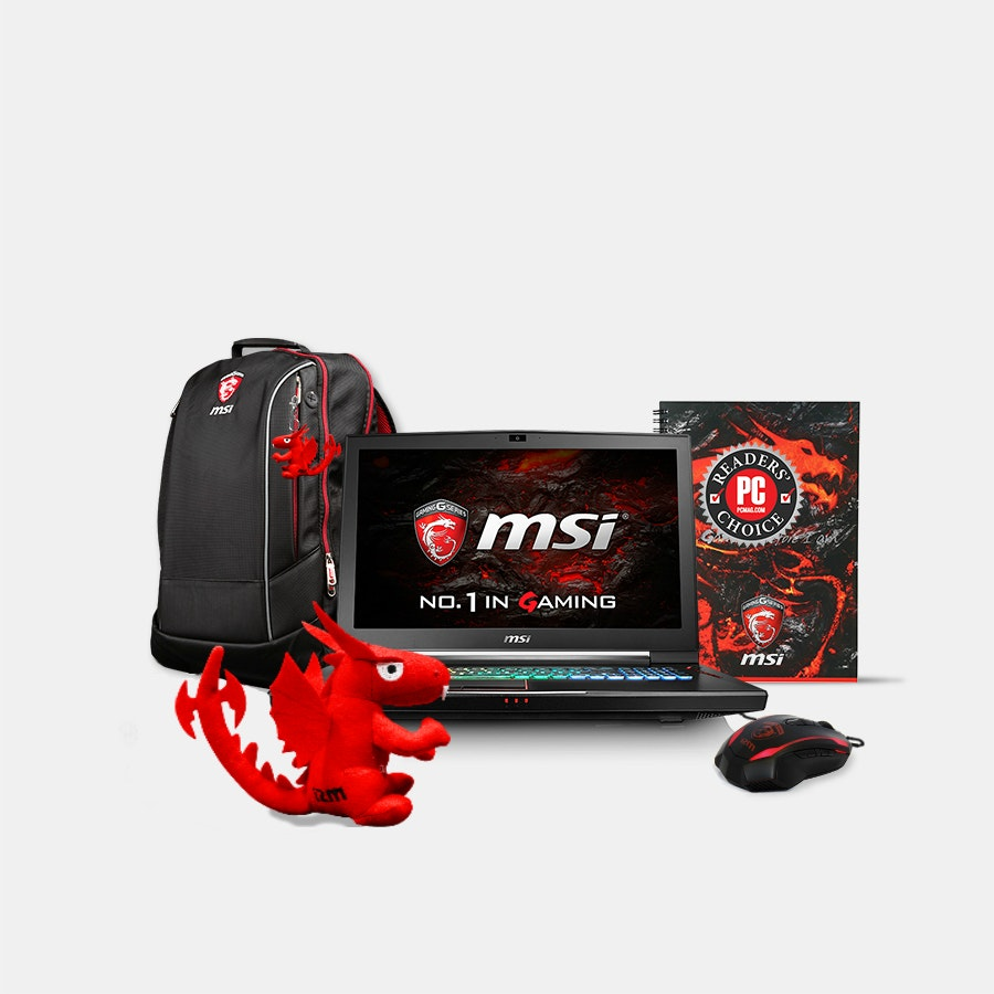 MSI Titan 17.3-Inch 120Hz Dual GTX 1070 Bundle