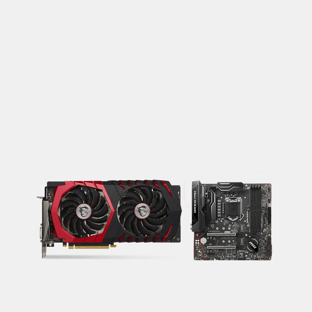 MSI GTX 1060|1070|1080|1080 TI Gaming X Bundles