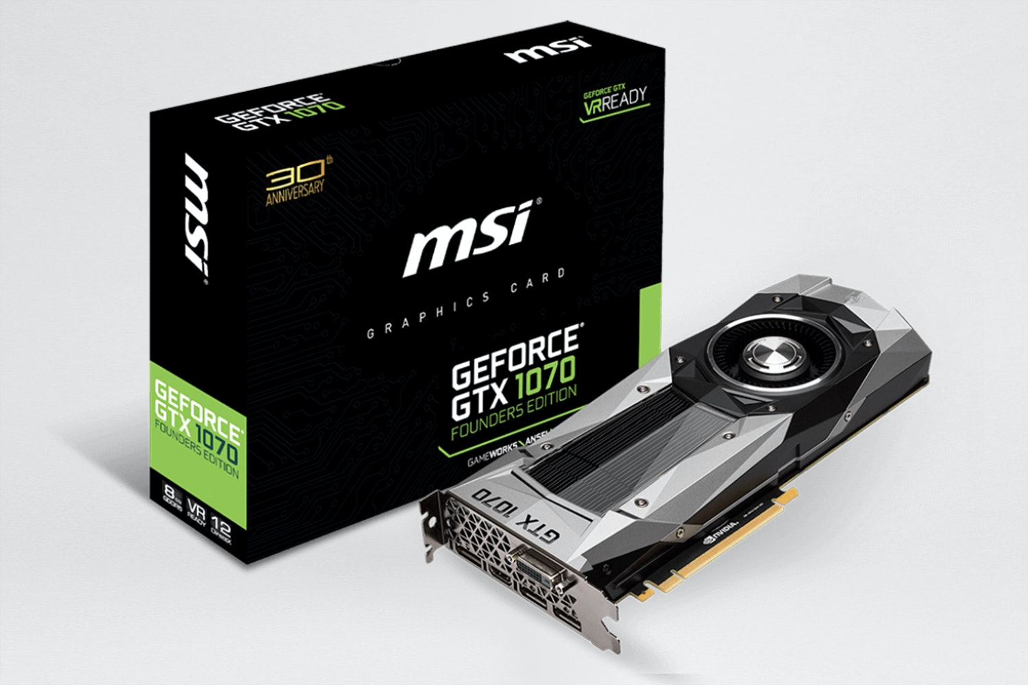 MSI GTX 1070 Founders Edition - Pre Order