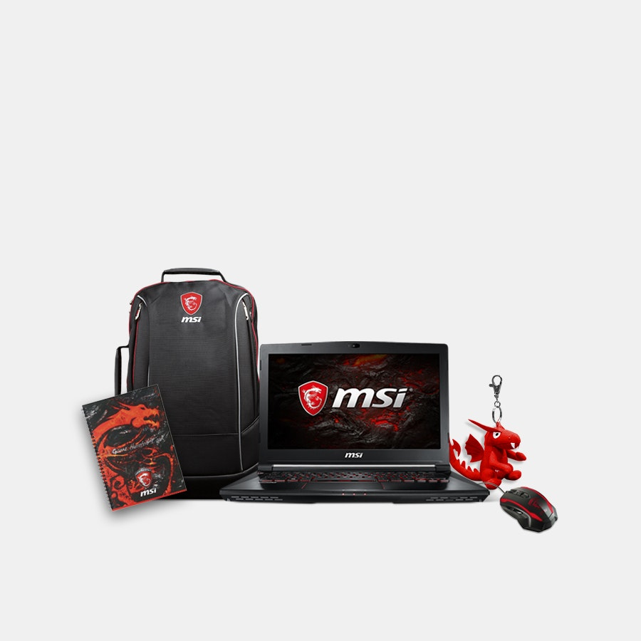 MSI Phantom Pro Gaming Laptop Bundle