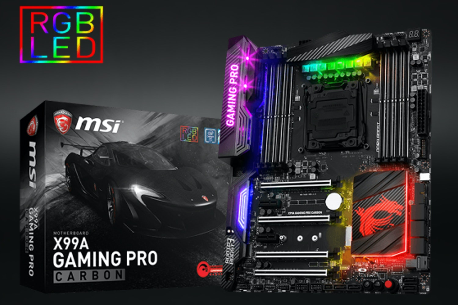 X99A Gaming Pro Carbon Motherboard