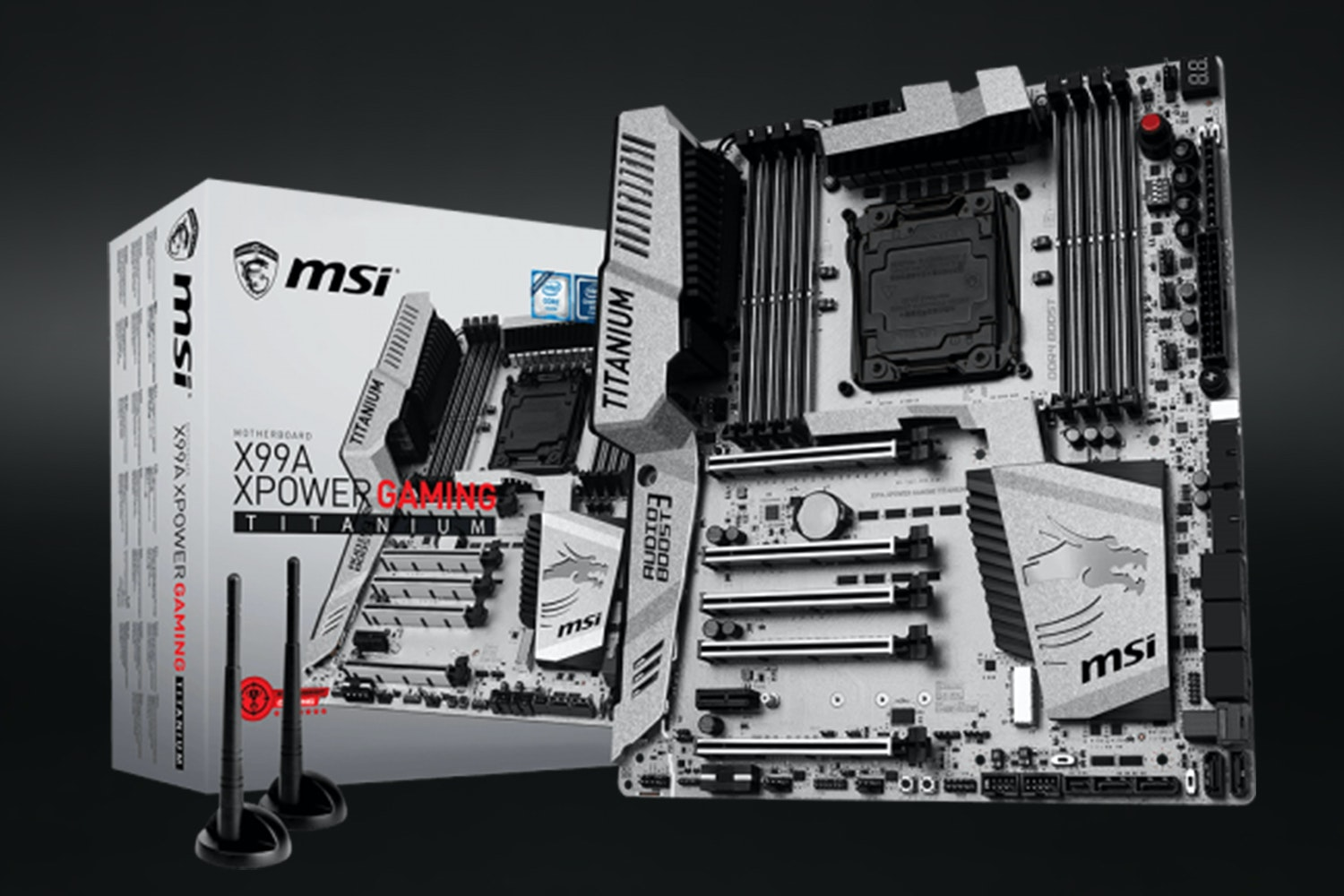 X99A XPower Gaming Titanium Motherboard