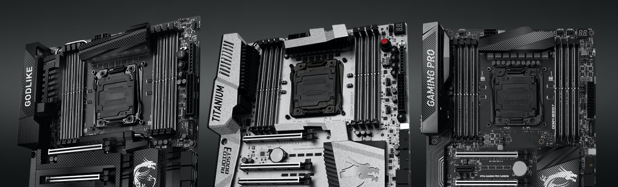 MSI X99A Godlike Gaming Carbon Motherboard