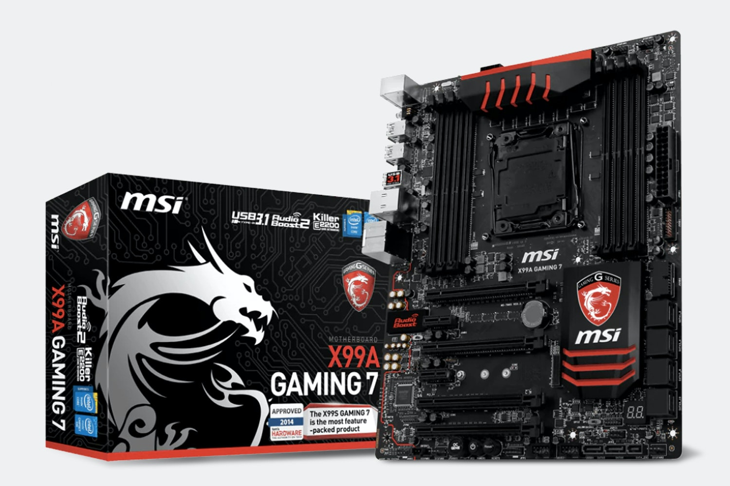 MSI X99A Gaming Motherboards