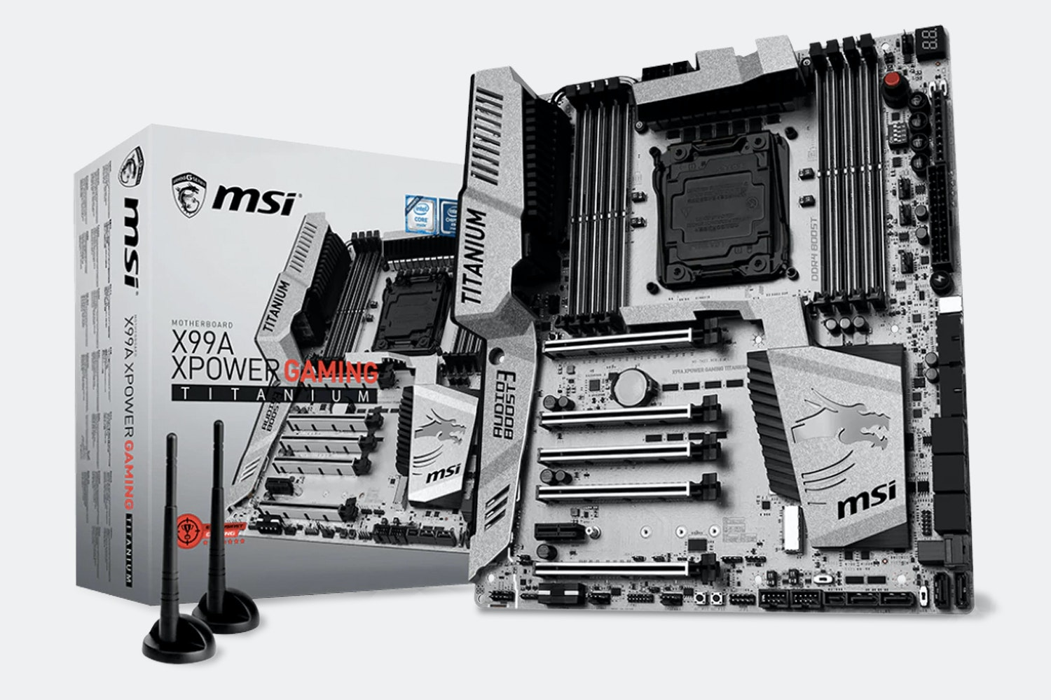 X99A XPower Gaming Titanium Motherboard (+ $110)