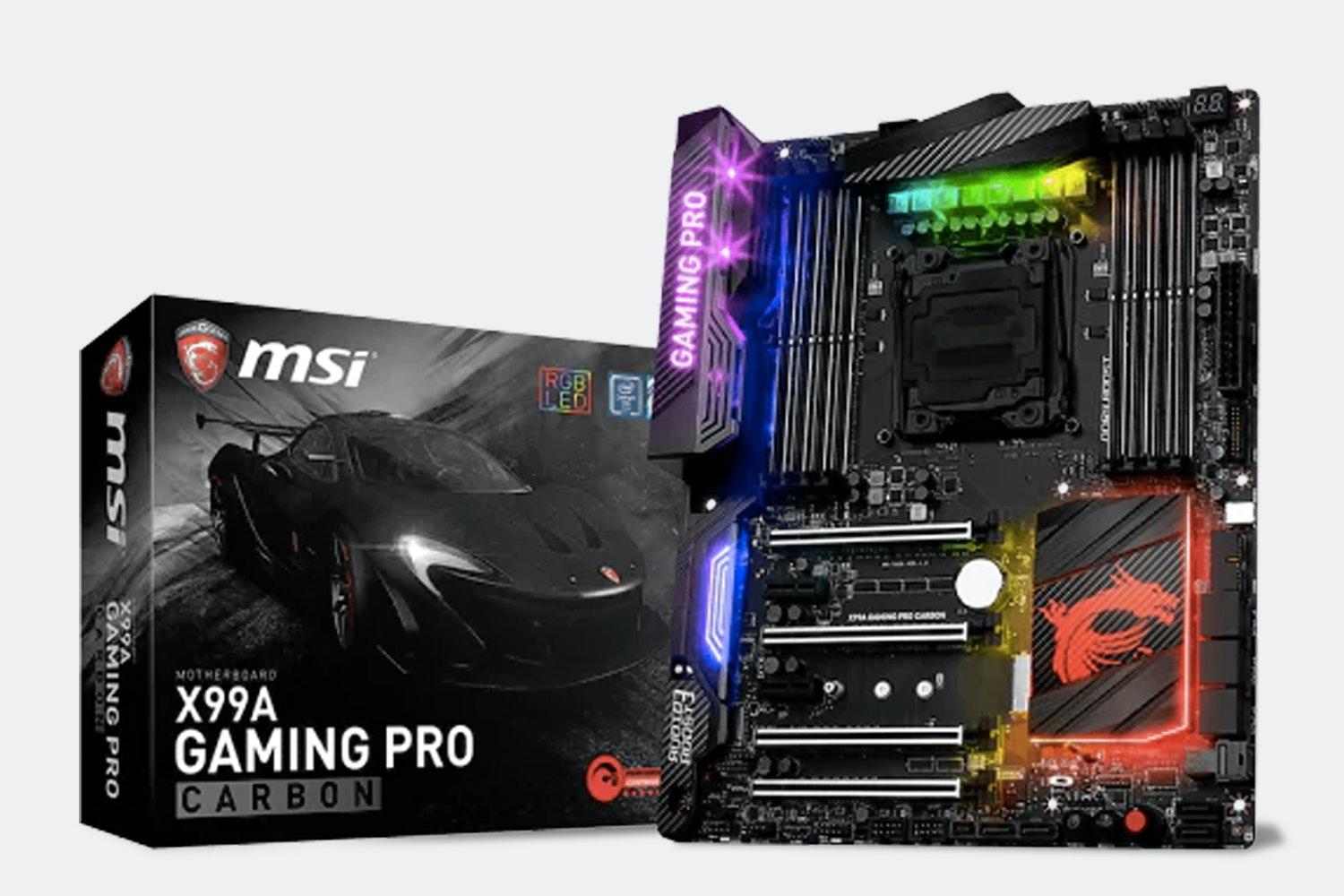 X99A Gaming Pro Carbon (+ $45)
