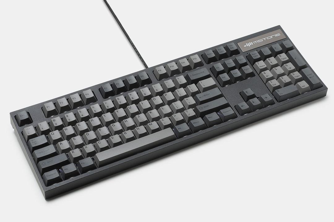 mStone Groove F 104A Full-Size Mechanical Keyboard
