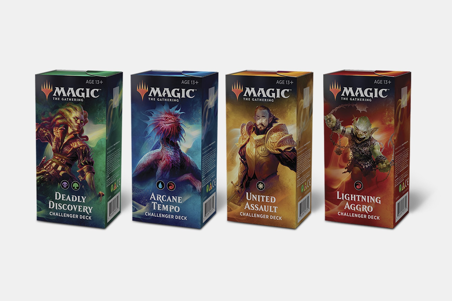 Magic 2019 Challenger Deck Arcane Tempo 75 Cards Including Arclight Phoenix!