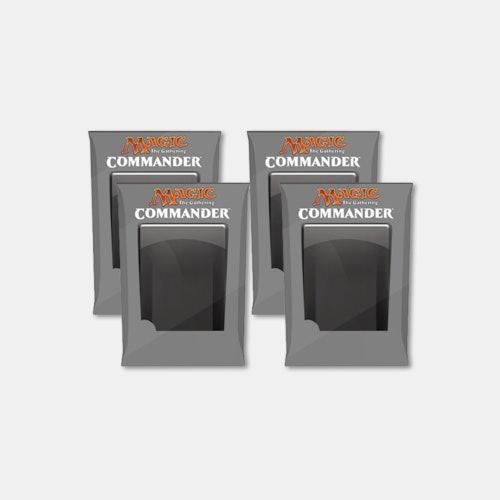MTG: Commander 2019 Decks (Set of 4) Preorder   Price & Reviews