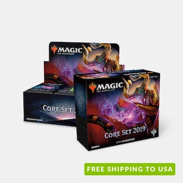 MTG Core 2019 Booster Box + Fat-Pack