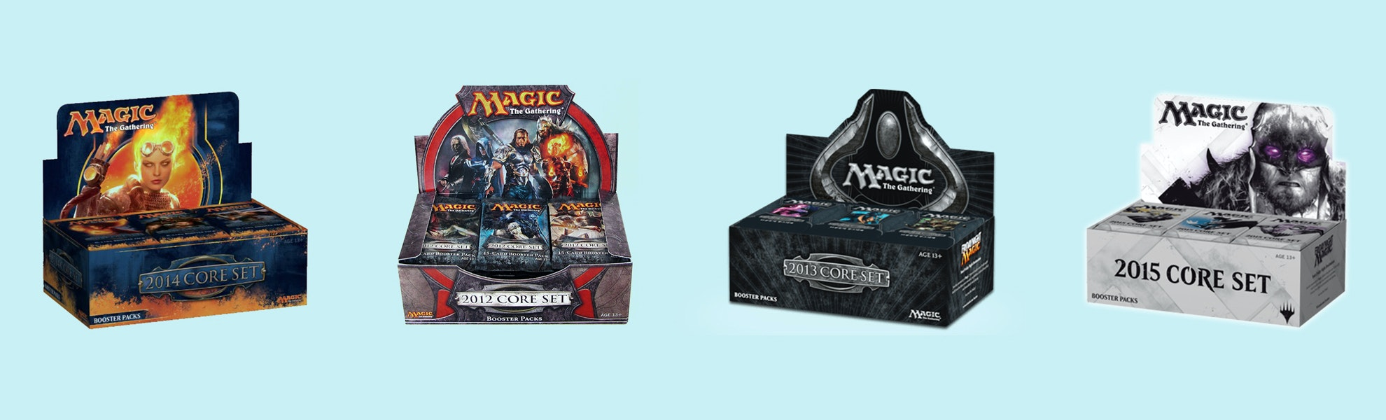 MTG Core Edition 2012-2015 Booster Box
